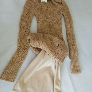 Turtle Neck Sweater Dress NEW with tag